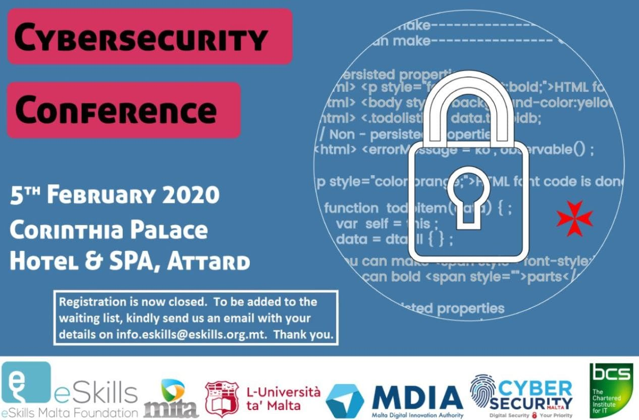 Malta's national CyberSecurity event